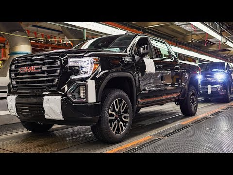 2019 GMC Sierra 1500 Production At Fort Wayne Assembly Plant