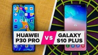 Huawei P30 Pro vs. Galaxy S10 Plus