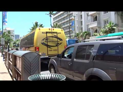 Kalakaua Ave Luxury Row LV DFS Galleria Holiday Inn Hyatt Regency Marriott 20150530 PM1206