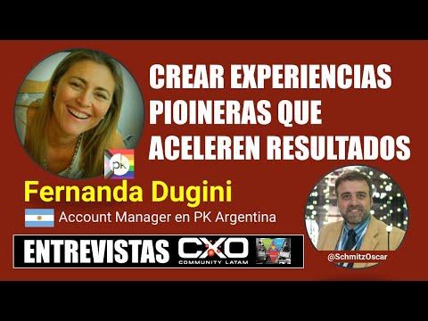🎙️ Entrevista Fernanda Dugini 💪 Crear experiencias pioneras que aceleren resultados 🚀