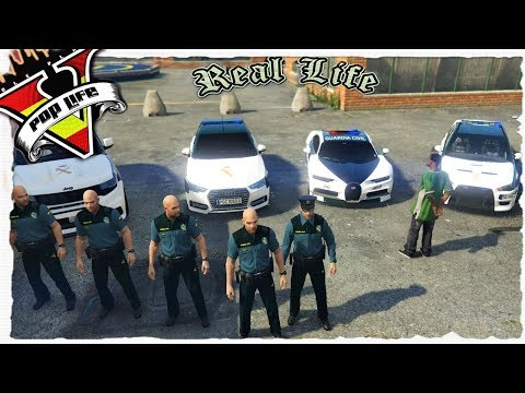 "GTA V PoP Life Role Play |""PERSECUCION CON EL CABO MAYOR""👮🚔"