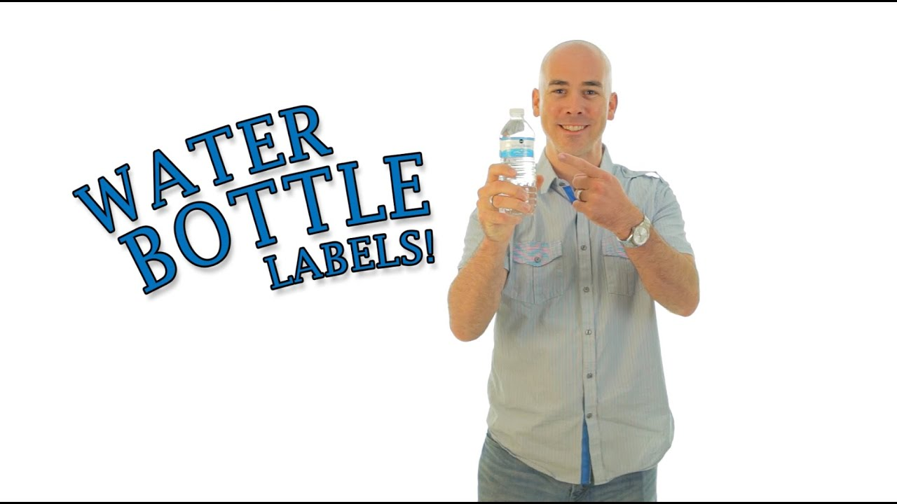 Diy Water Bottle Labels Make Your Own Save