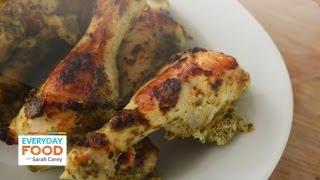 Pesto- Yogurt Chicken - Everyday Food Sarah Carey
