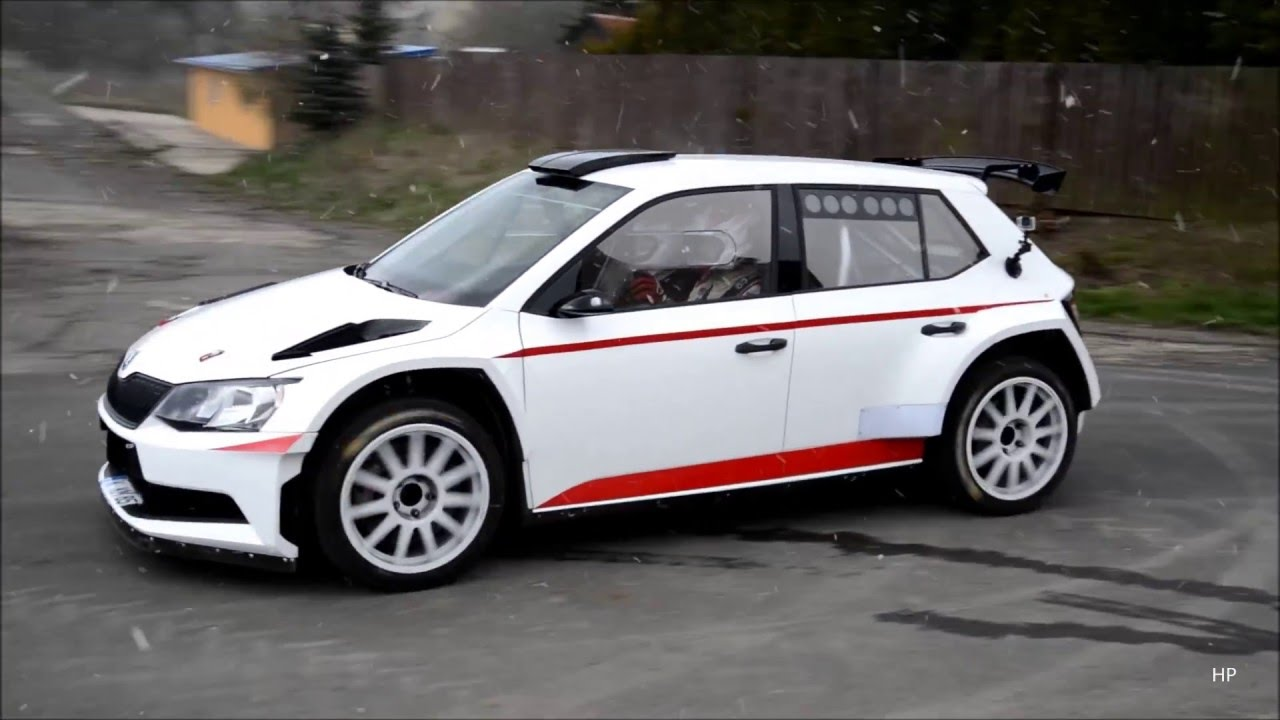 skoda fabia r5 matthias kahle test youtube. Black Bedroom Furniture Sets. Home Design Ideas