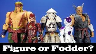 Figure or Fodder? Bluefin Edition! Star Wars, DBZ, Tekken, Street Fighter, and Justice League