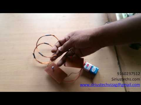 school projects wireless power transmission by sirius tech