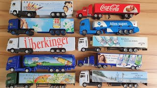 toy cars and trucks for kids play on the table for children
