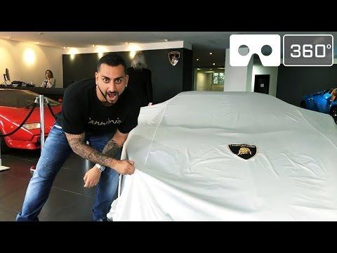 Unveiling New Lamborghini - YouTube 360 LIVE