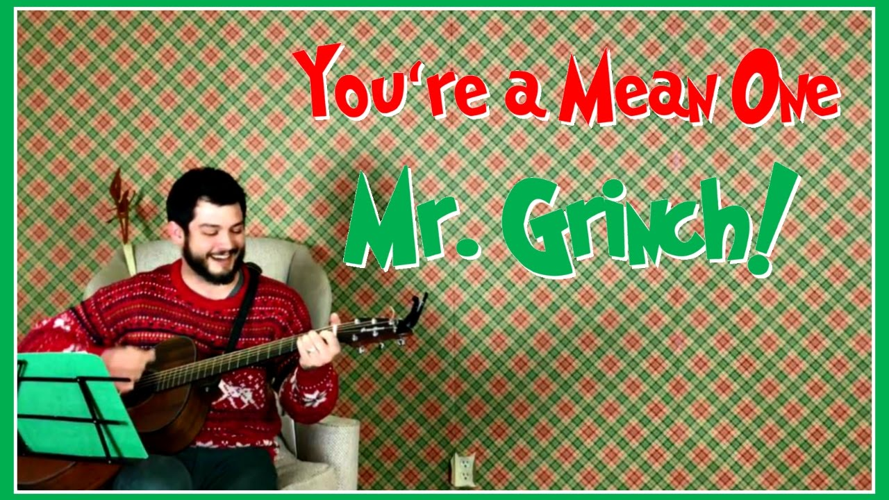 Misc Christmas - Youre A Mean One Mr Grinch (Chords)