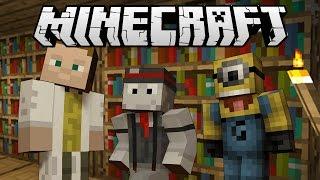 [GEJMR] Minecraft Minihry - Hide n Seek - Triple Knihovna