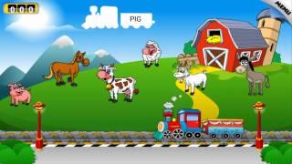 Trò chơi cho trẻ em - Học tiếng Anh cùng Đoàn tàu nhỏ xíu - Video hoạt hình Game 3D ABC for kid