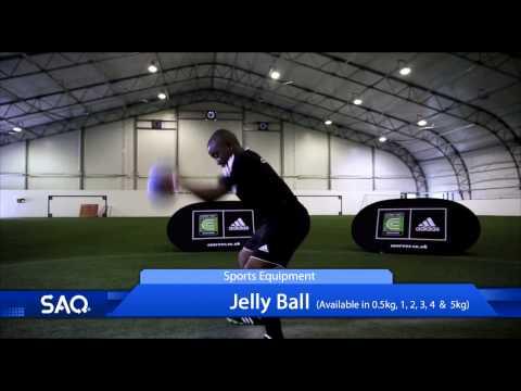SAQ® Jelly Ball Sports Equipment Promo Video (Speed, Agility, Quickness (SAQ®)
