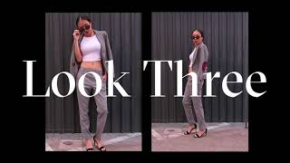 Los Angeles Lookbook// Parisian Chic, Monotone Suit Style