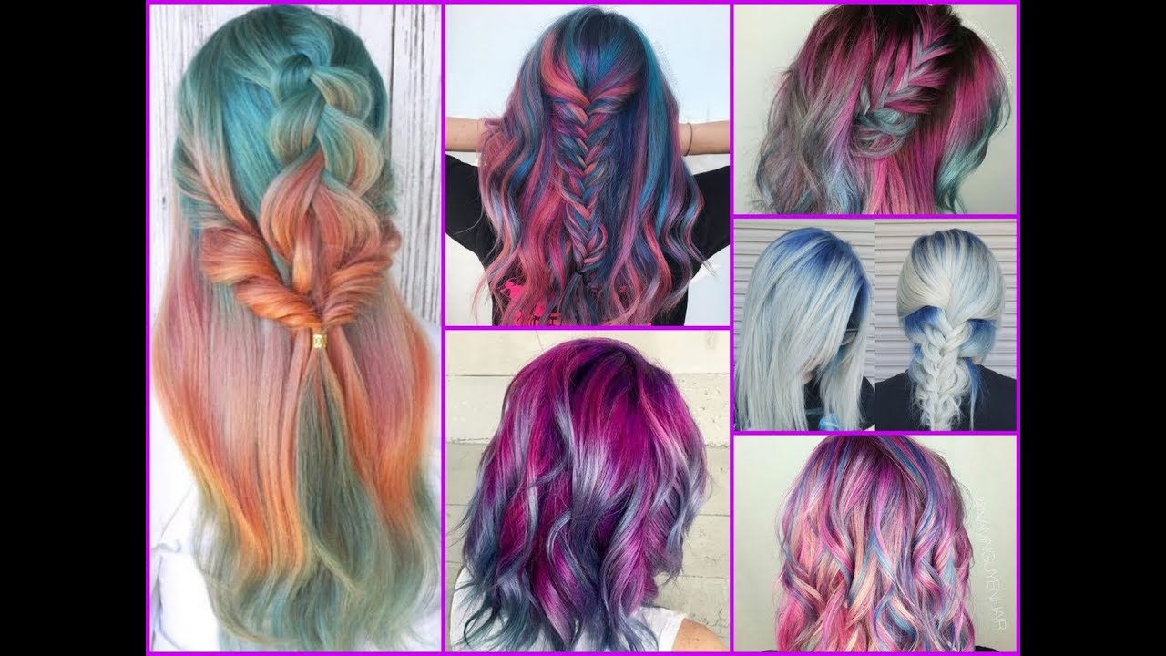 50 Unique Colorful Hair Dye Ideas Winter Compilation Youtube