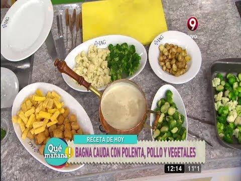 Bagna cauda cocina italiana miguel pena roma