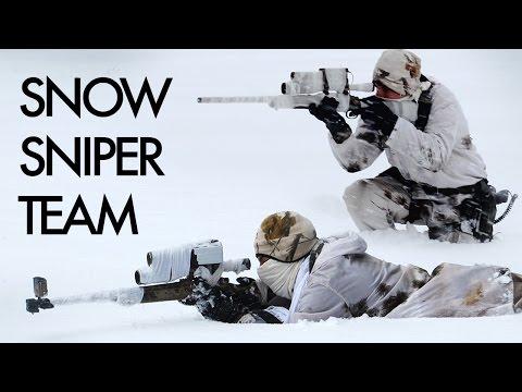 Snow Sniper Team