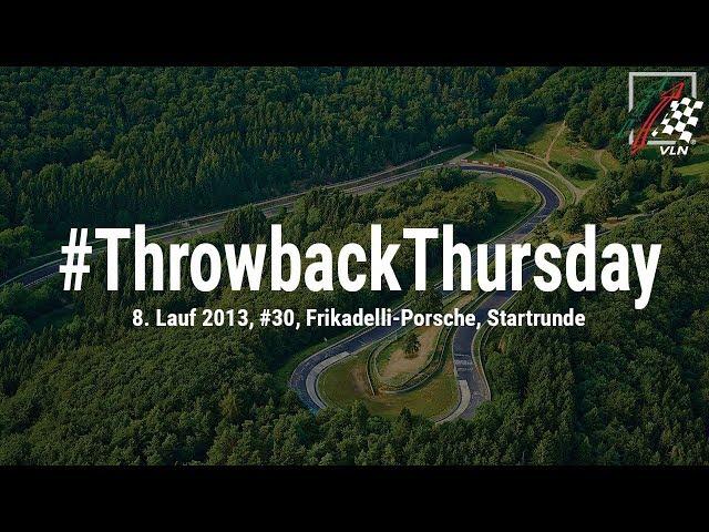 #ThrowbackThursday: Onboard / Porsche 911 GT3 R
