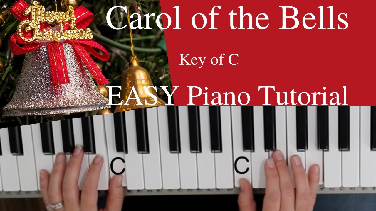Download Carol of the Bells (Key of C)//EASY Piano Tutorial