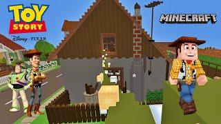 TOY STORY - Vistazo a la casa de Sid Philips en Minecraft - Disney Pixar