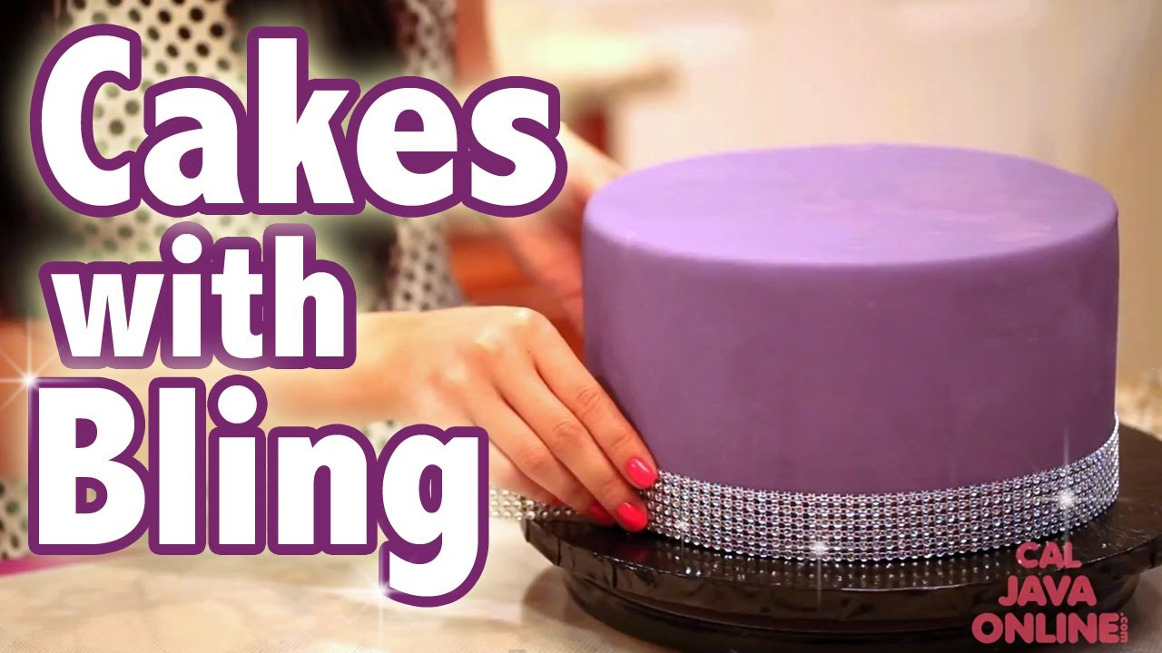 Edible Bling For Cake Decorating