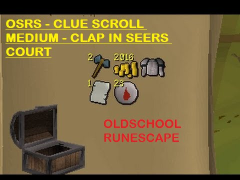 Osrs Clap In Seers Court House 2007 Clue Scroll Youtube