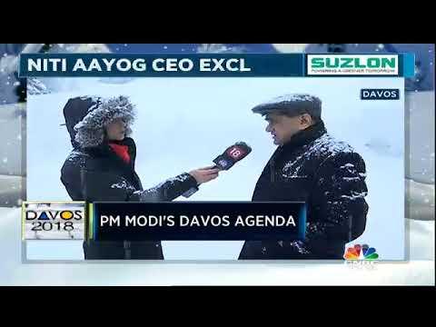 Amitabh Kant On PM Modi's Davos Agenda