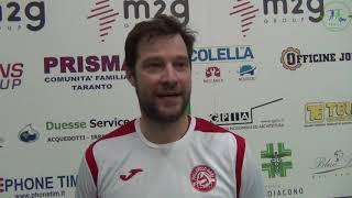 12-02-2020: #fipavpuglia - Matej Cernic commenta l'accesso alla F4 di Coppa Italia di BM del Bari