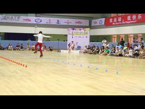 Shanghai Slalom Open 2013   Senior Men   24 Tseng Miao