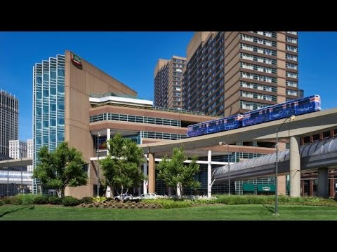 Courtyard Detroit Downtown 3 Stars Hotel In Detroit Michigan Youtube