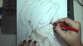 Speed Drawing - Sakamaki Subaru (Diabolik Lovers)