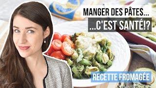 MANGER DES PÂTES, C'EST SANTÉ? | Recette facile riche en protéines Fromage Jarlsberg