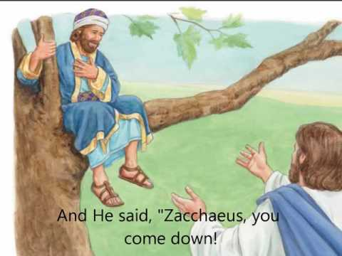 Zacchaeus Was a Wee Little Man