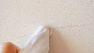 Astuce: ôter les traces sur un mur peint en blanc