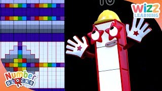 Numberblocks - NEW EPISODES! | Building Blocks | Learn to Count | Wizz Learning