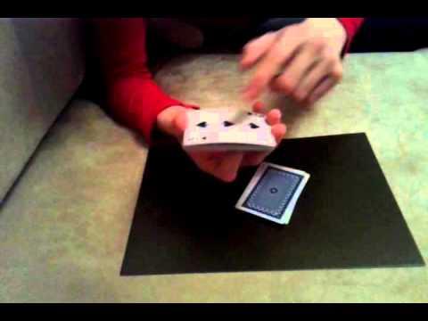 секрет карточного фокуса менять цвет рубашки