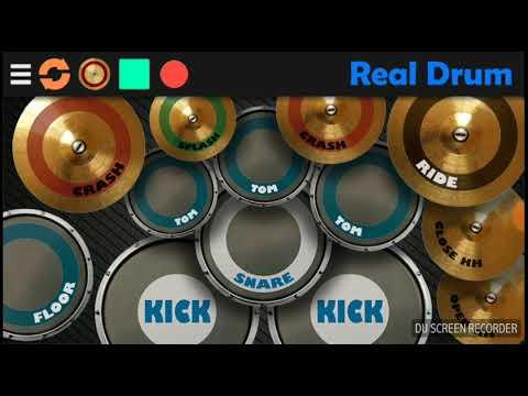 Real drum andra & the backbone - main hati(cover)