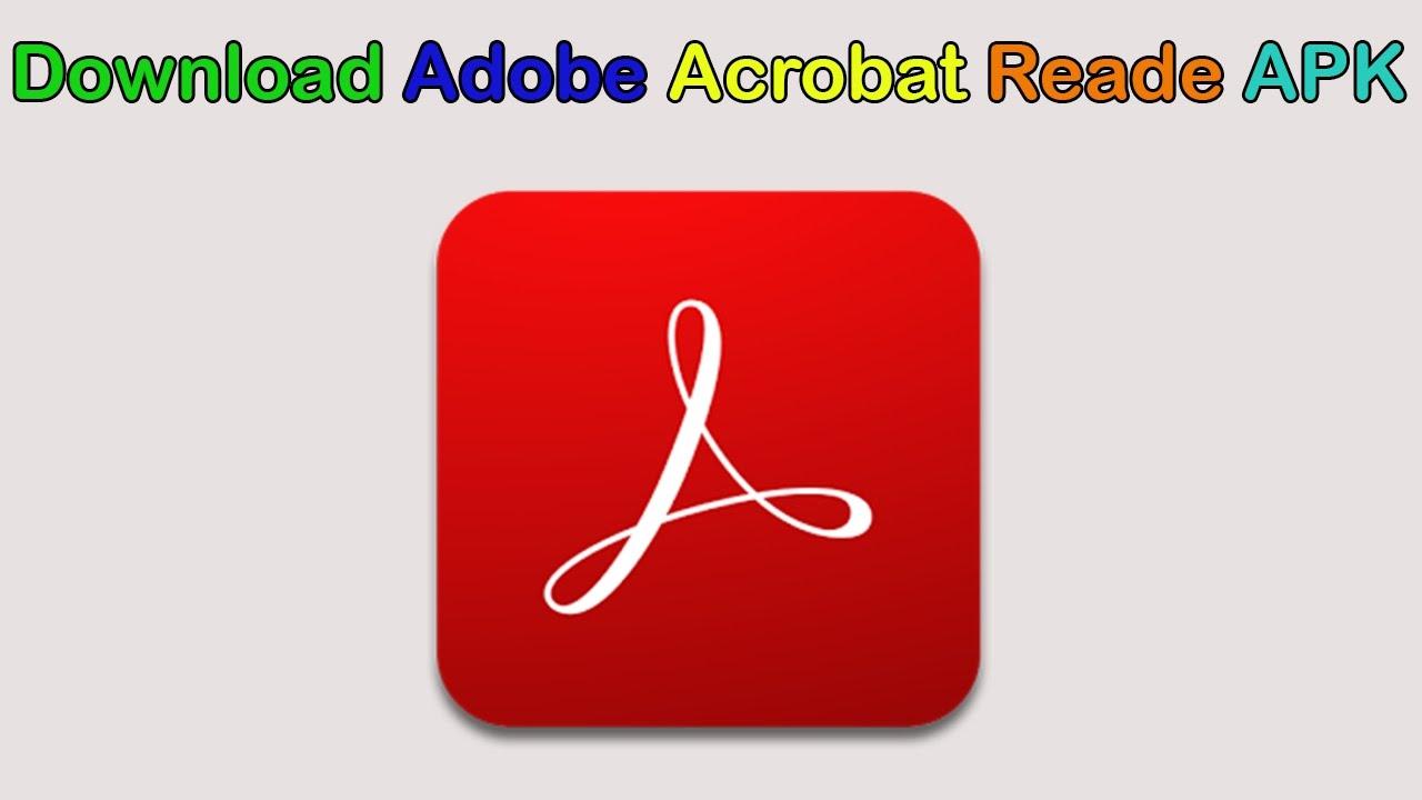 adobe reader apk download