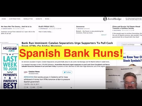 Spanish Bank Runs! (Bix Weir)