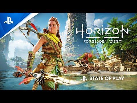 State of Play - Revelação do gameplay de Horizon Forbidden West | PS5