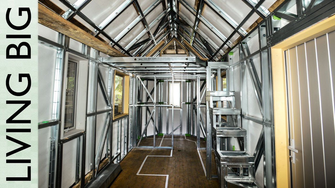 Tiny House Plans For Internal Fit Out YouTube