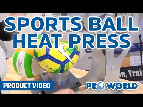 Stahls' Hotronix Sports Ball Heat Press Overview