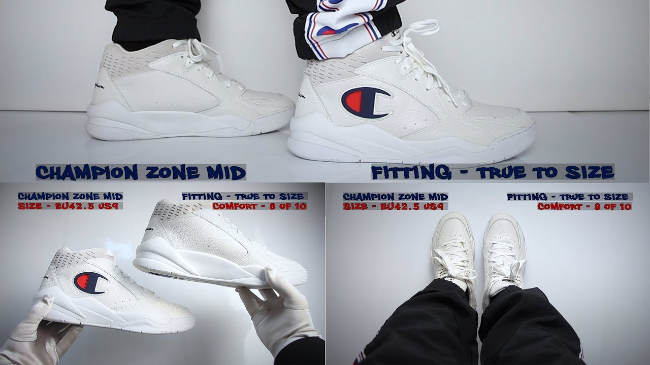 Champion Zone Mid (review) - Unboxing