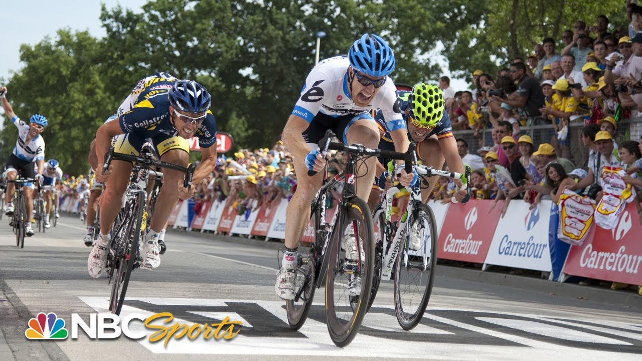 Tyler Farrar reflects on Stage 3 win in 2011 Tour de France | NBC Sports