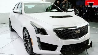 Cadillac's CTS-V: Not Your Daddy's 'Caddy'
