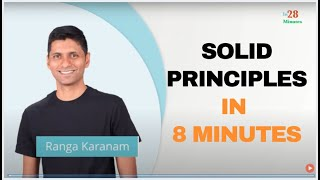 Software Design - Introduction to SOLID Principles in 8 Minutes