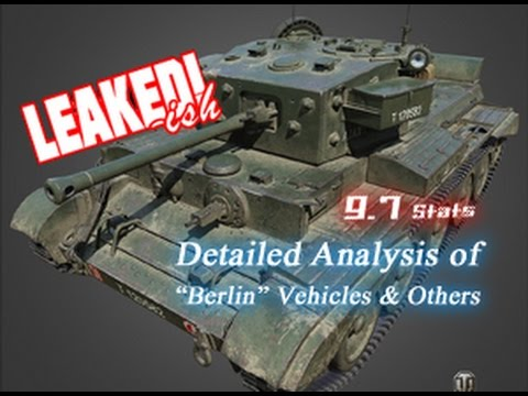 "LEAKED!-ish - 9.7 Detailed Analysis of ""Berlin"" Vehicles & Upcoming Premiums 