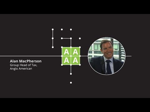 Alumni Upfront: Alan McPherson, Group Head of Tax at Anglo American