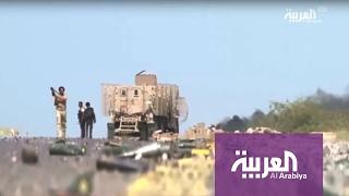 التحالف العربي يقصف #صعدة