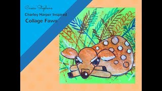How to Draw a Baby Deer (fawn!)