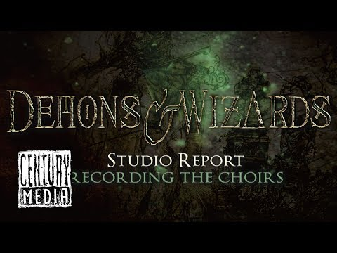 DEMONS & WIZARDS - Studio Report: Recording the Choirs